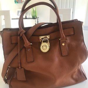 Michael Michael Kors Hamilton large satchel.